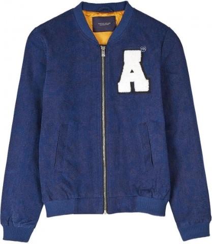 Womans Varsity Bomber jacket Masion Scotch size 6